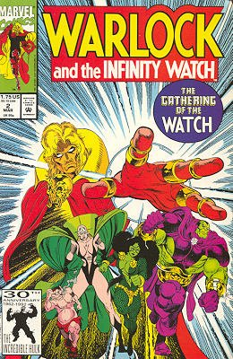 Warlock And The Infinity Watch # 2 Issues (1992 - 1995)
