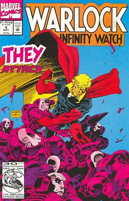 Warlock And The Infinity Watch # 4 Issues (1992 - 1995)
