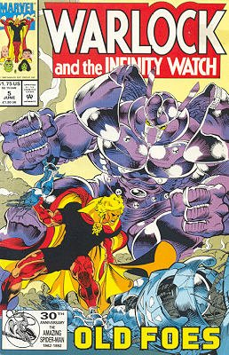 Warlock And The Infinity Watch # 5 Issues (1992 - 1995)