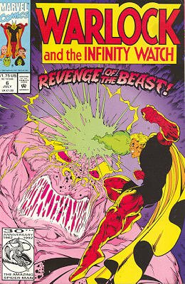 Warlock And The Infinity Watch # 6 Issues (1992 - 1995)