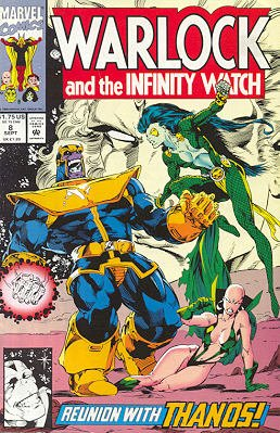 Warlock And The Infinity Watch # 8 Issues (1992 - 1995)