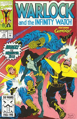 Warlock And The Infinity Watch # 14 Issues (1992 - 1995)
