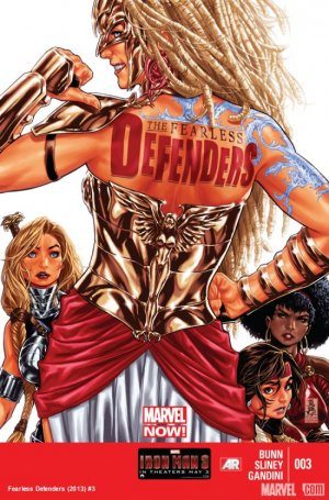 Fearless Defenders # 3 Issues V1 (2013)