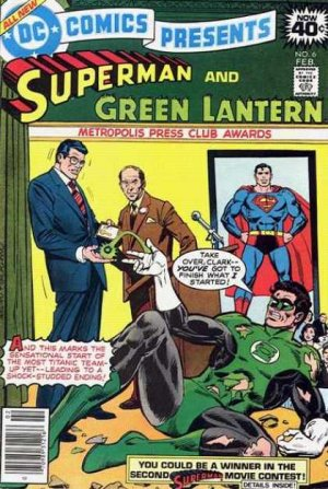 DC Comics presents 6 - The Fantastic Fall Of Green Lantern!