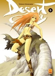 couverture, jaquette Desert Coral 5  (Kami) Manga