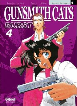 couverture, jaquette Gunsmith Cats Burst 4  (Glénat Manga)