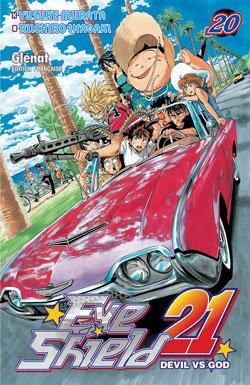 couverture, jaquette Eye Shield 21 20  (Glénat Manga) Manga