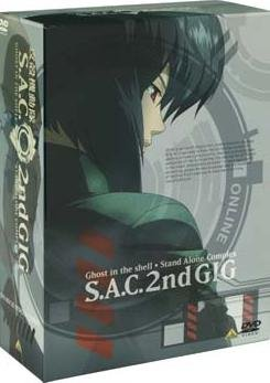 Ghost in the Shell : Stand Alone Complex - Saison 2 édition PRESTIGE  -  VO/VF