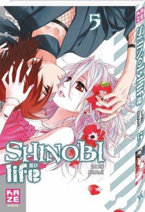 couverture, jaquette Shinobi Life 5  (kazé manga)