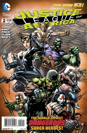 Justice League Of America # 2 Issues V4 (2013 - 2014)