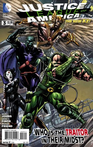 Justice League Of America # 3 Issues V4 (2013 - 2014)