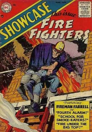 Showcase 1 - this issue FIRE FIGHTERS
