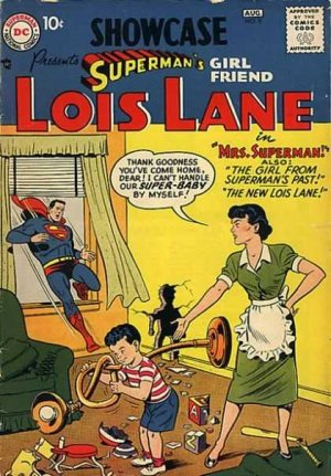 Showcase 9 - presents SUPERMAN'S girl friend LOIS LANE