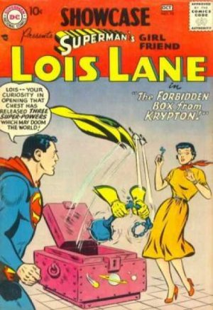Showcase 10 - presents SUPERMAN'S girl friend LOIS LANE