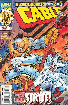 Cable 63 - Blood Brothers Part 2: Illusions of Doom