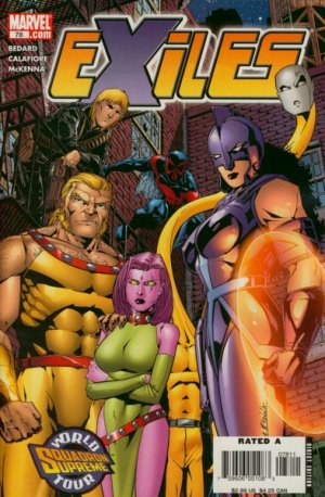 Exiles # 78 Issues V1 (2001 - 2008)