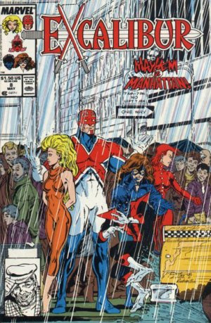 Excalibur # 8 Issues V1 (1988 - 1998)