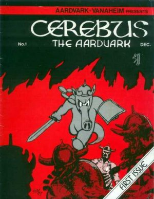 Cerebus édition Issues V1 (1977 - 2004)