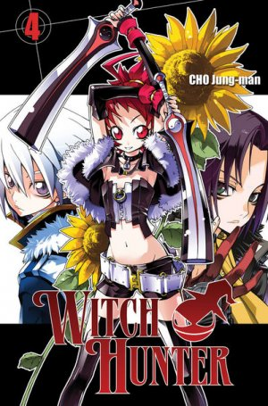 couverture, jaquette Witch Hunter 4  (Ki-oon) Manhwa