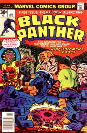 Black Panther # 1 Issues V1 (1977 - 1979)