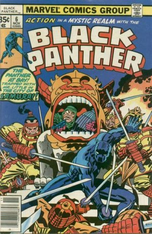 Black Panther # 6 Issues V1 (1977 - 1979)