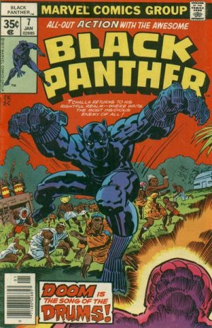Black Panther # 7 Issues V1 (1977 - 1979)