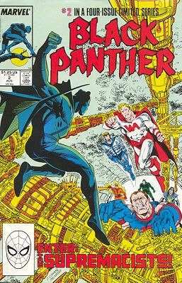 Black Panther # 2 Issues V2 (1988)