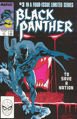 Black Panther # 3 Issues V2 (1988)