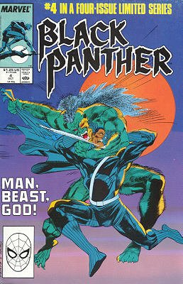 Black Panther # 4 Issues V2 (1988)