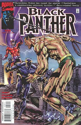 Black Panther # 28 Issues V3 (1998 - 2003)