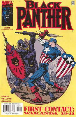 Black Panther # 30 Issues V3 (1998 - 2003)
