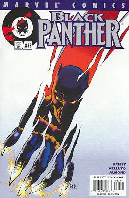 Black Panther # 33 Issues V3 (1998 - 2003)