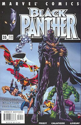 Black Panther # 35 Issues V3 (1998 - 2003)