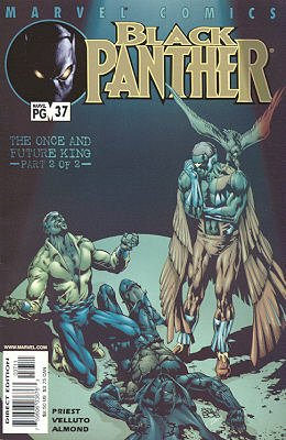 Black Panther # 37 Issues V3 (1998 - 2003)