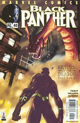 Black Panther # 40 Issues V3 (1998 - 2003)