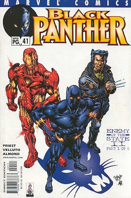 Black Panther # 41 Issues V3 (1998 - 2003)