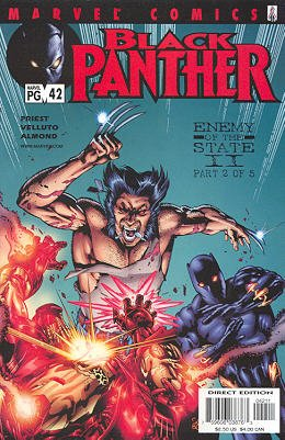 Black Panther # 42 Issues V3 (1998 - 2003)