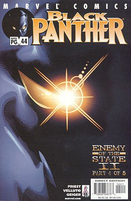 Black Panther # 44 Issues V3 (1998 - 2003)