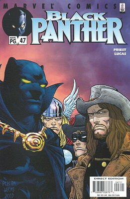 Black Panther # 47 Issues V3 (1998 - 2003)