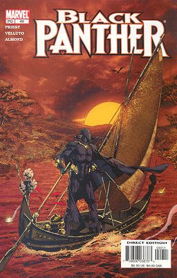 Black Panther # 49 Issues V3 (1998 - 2003)