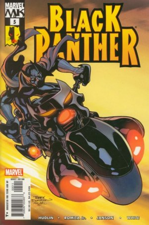 Black Panther # 5 Issues V4 (2005 - 2008)