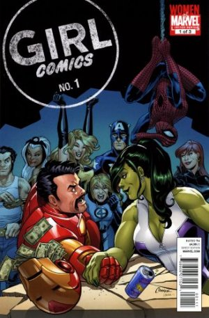 Girl Comics # 1 Issues V2 (2010)