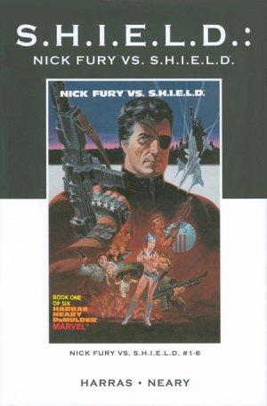 Nick Fury vs. S.H.I.E.L.D. édition TPB hardcover (cartonnée)