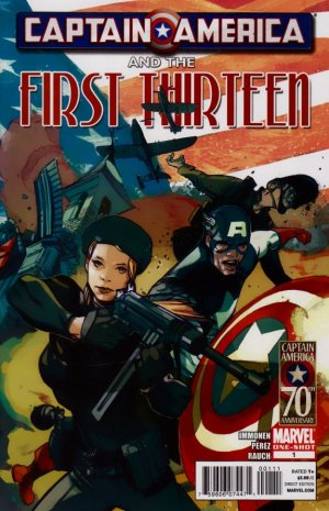 Captain America And The First Thirteen # 1 Issues