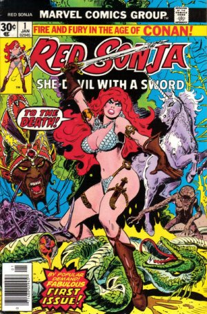 Red Sonja édition Issues V1 (1977 - 1979)