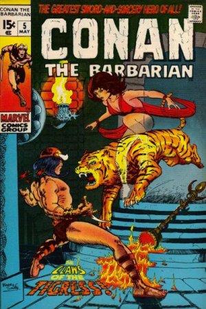 Conan Le Barbare # 5 Issues V1 (1970 - 1993)