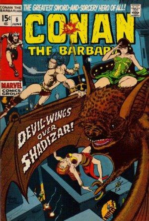 Conan Le Barbare # 6 Issues V1 (1970 - 1993)