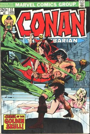 True believers - Conan the barbarian - Curse of the golden skull # 37 Issues V1 (1970 - 1993)