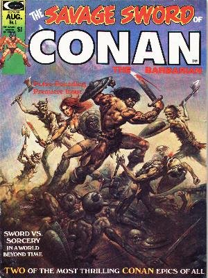 The Savage Sword of Conan édition Magazines (1974 - 1995)