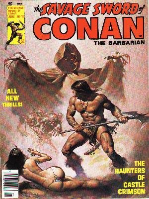 The Savage Sword of Conan # 12 Magazines (1974 - 1995)